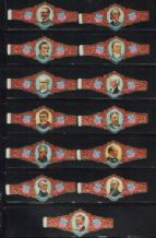 cigar band labels depicting presidents of the U.S.A.